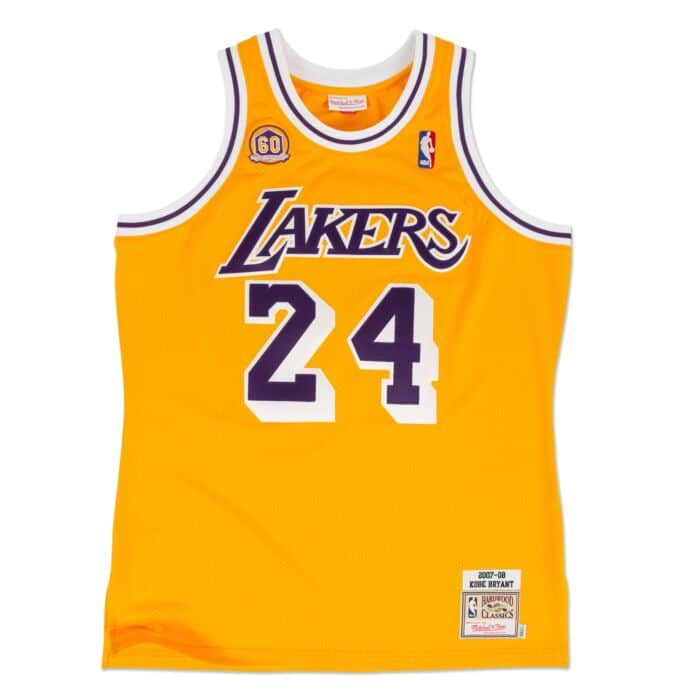 pictures of kobe bryant's jersey