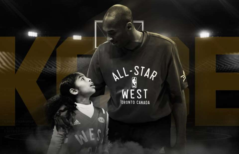 picture of kobe bryant family