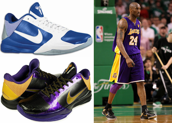 images of kobe bryant shoes