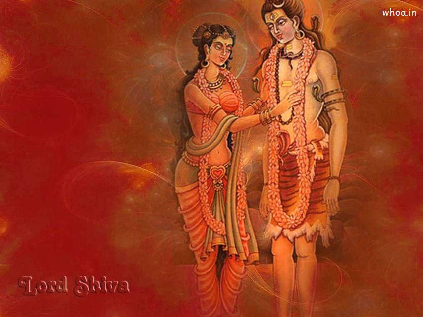 pic of lord shiv and parvati