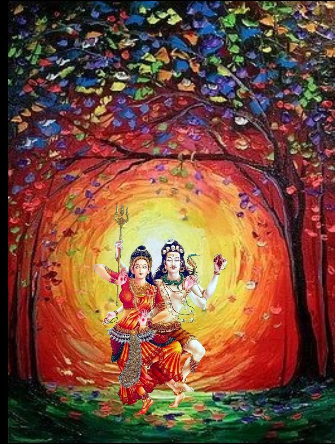 pic of lord shiva and parvati
