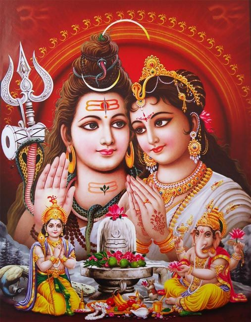 romantic pics of lord shiva and parvati