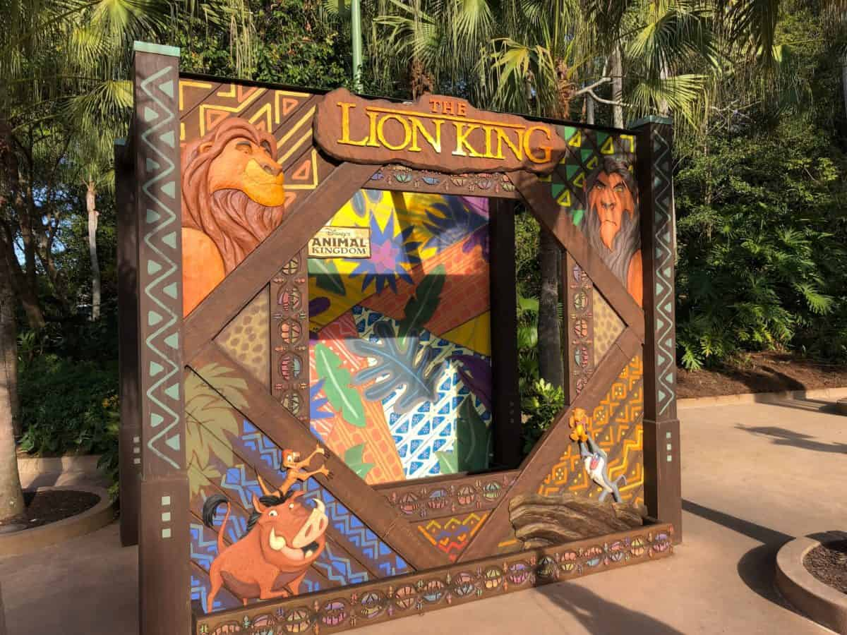 lion king photo booth props