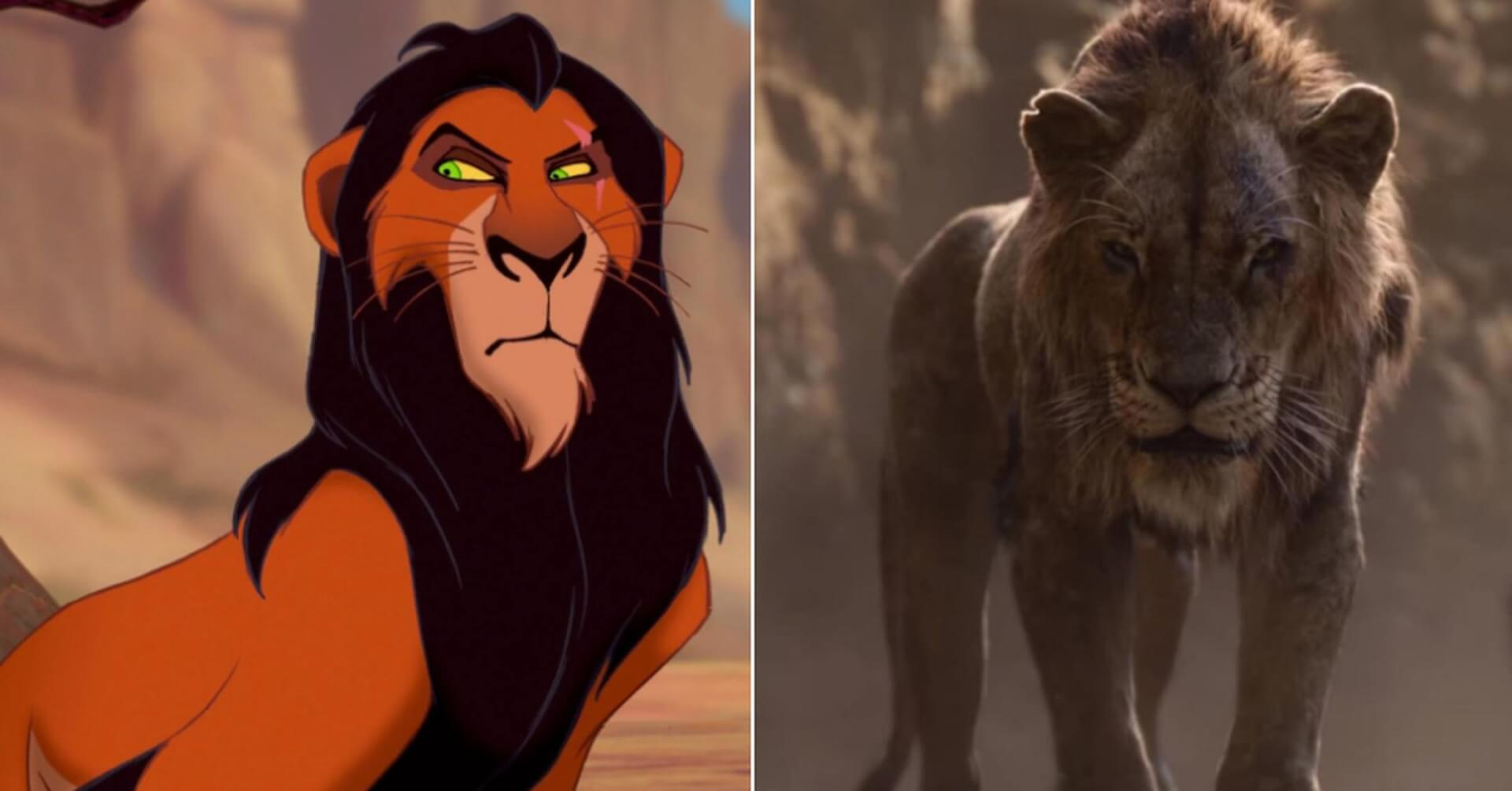 image of scar lion king