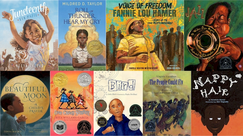 picture books written by african american authors