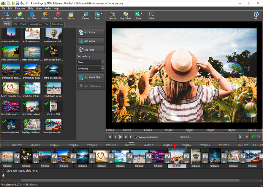 photo slideshow with music app download for pc